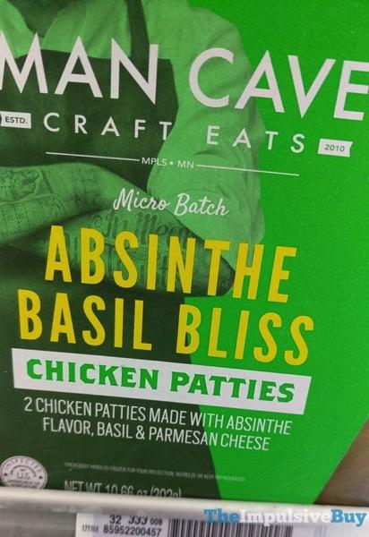 Man Cave Absinthe Basil Bliss Chicken Patties