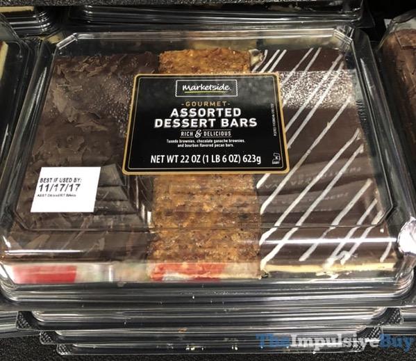 Marketside Gourmet Assorted Dessert Bars