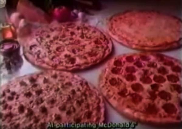 McDonald s Pizza 2