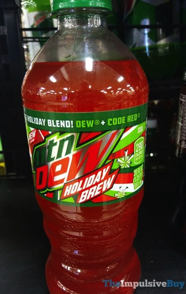 Mtn Dew Holiday Brew 20 ounce