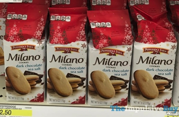 Pepperidge Farm Dark Chocolate Sea Salt Milano Cookies
