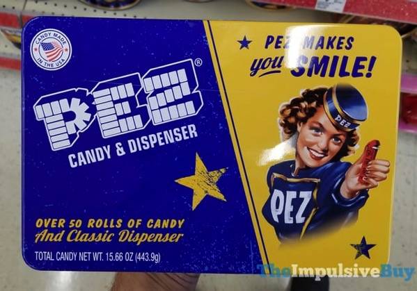 Pez Candy  Dispenser  50 Rolls and Classic Dispenser