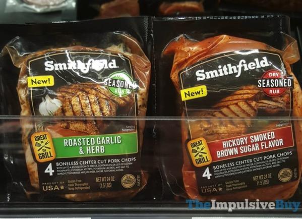 Smithfield Dry Seasoned Rub  Roasted Garlic  Herb and Hickory Smoked Brown Sugar Flavor