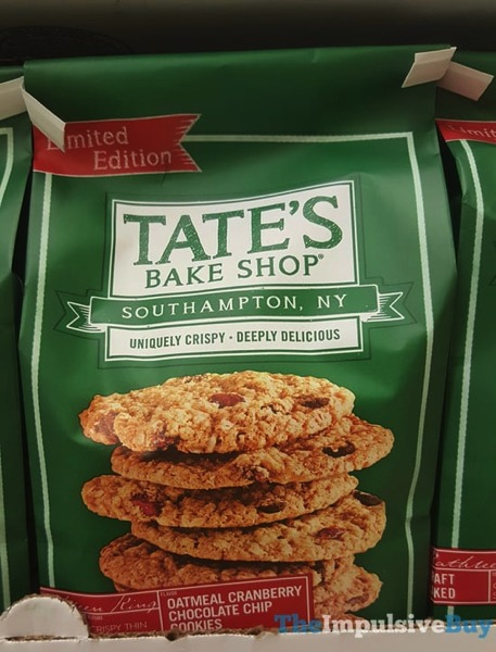 Tate s Bake Shop Limited Edition Oatmeal Cranberry Chocolate Chip Cookies