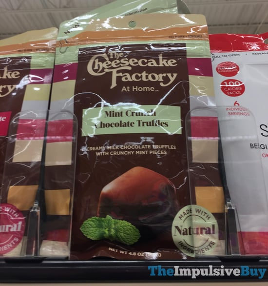 The Cheesecake Factory at Home Mint Crunch Chocolate Truffles