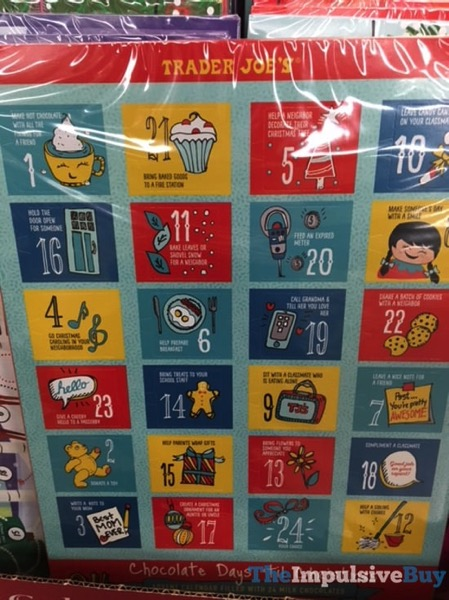 Trader Joe s 2017 Advent Calendar 2