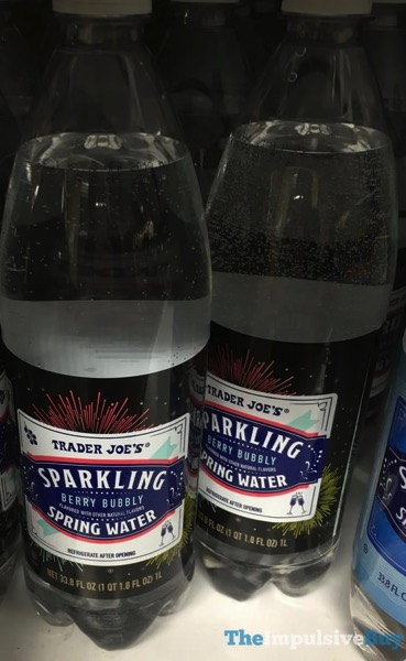 Trader Joe s Berry Bubbly Sparkling Spring Water
