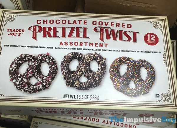Trader Joe s Chocolate Covered Pretzel Twist Assortment