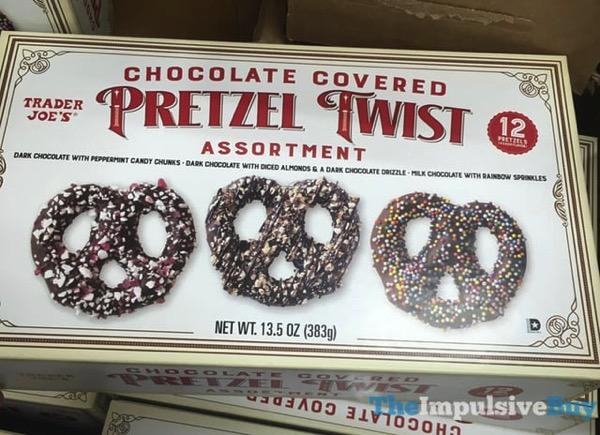 Trader Joe s Chocolate Covered Pretzel Twist Assortment