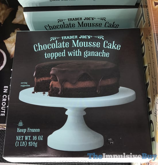 Trader Joe s Chocolate Mousse Cake Topped with Ganache