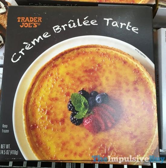 Trader Joe s Creme Brulee Tarte