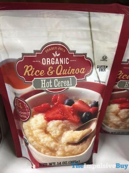Trader Joe s Organic Rice  Quinoa Hot Cereal