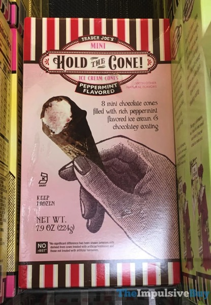 Trader Joe s Peppermint Mini Hold The Cone Ice Cream Cones