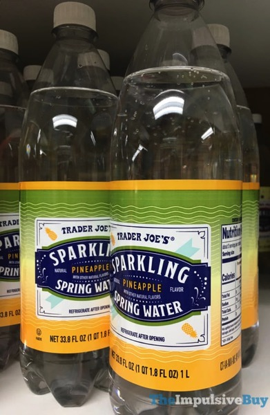 Trader Joe s Pineapple Sparkling Spring Water