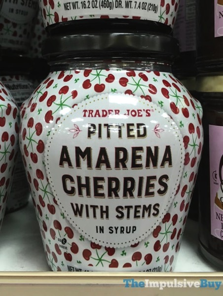 Trader Joe s Pitted Amarena Cherries with Stems