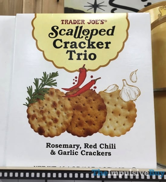 Trader Joe s Scalloped Cracker Trio