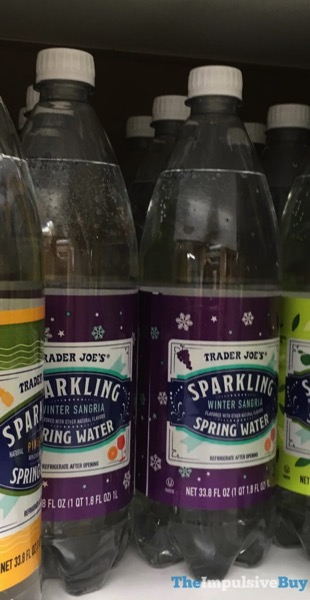 Trader Joe s Winter Sangria Sparkling Spring Water