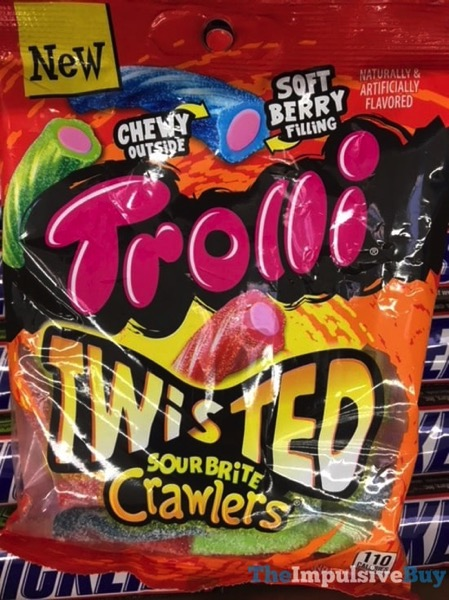 Trolli Twisted Sour Brite Crawlers