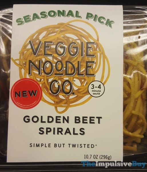 Veggie Noodle Co Seasonal Pick Golden Beet Spirals