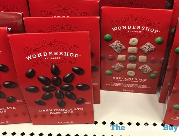 Wondershop at Target Dark Chocolate Almonds and Rudolph s Mix
