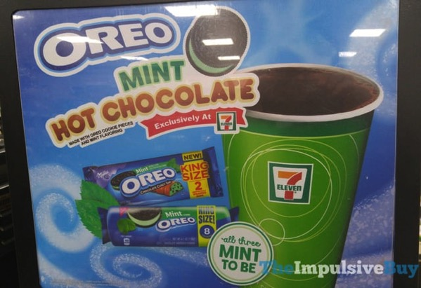 7 Eleven Mint Oreo Hot Chocolate