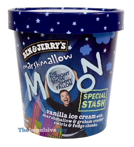 Ben  Jerry s Special Stash Marshmallow Moon Ice Cream