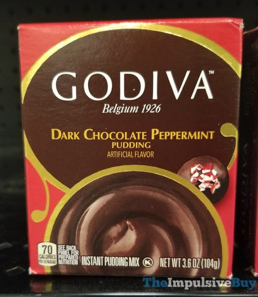 Godiva Dark Chocolate Peppermint Pudding