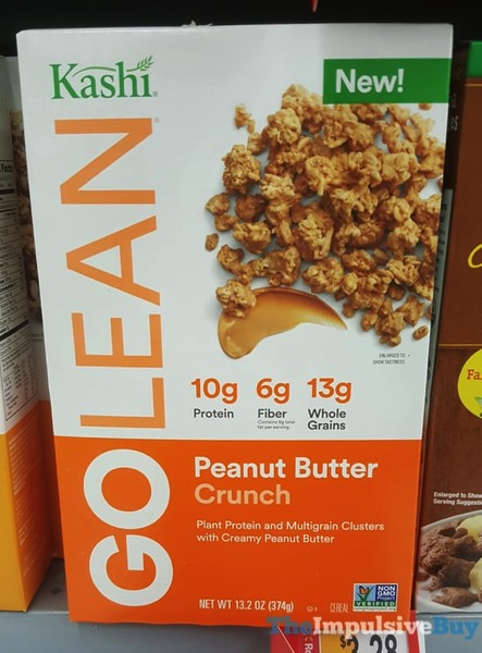 Kashi Go Lean Peanut Butter Crunch