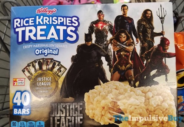 Kellogg s Justice League Original Rice Krispies Treats