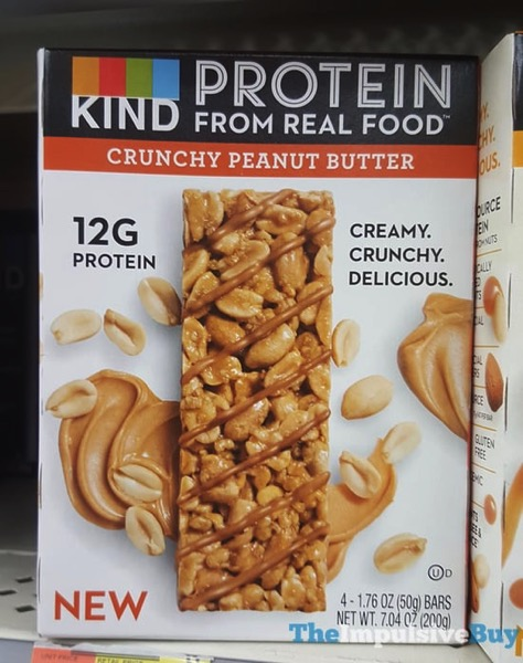 Kind Crunchy Peanut Butter Protein Bars