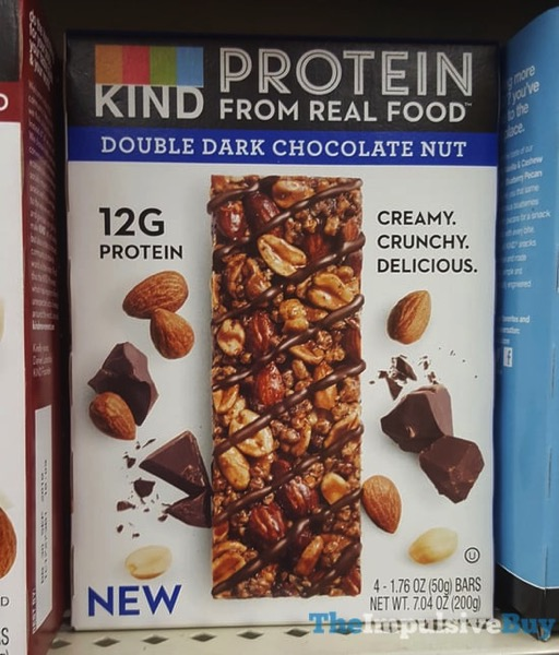 Kind Double Dark Chocolate Nut Protein Bars