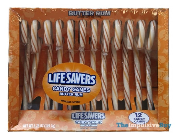 Life Savers Butter Rum Candy Canes