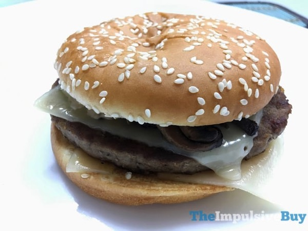 McDonald s Signature Crafted Mushroom Swiss Melt