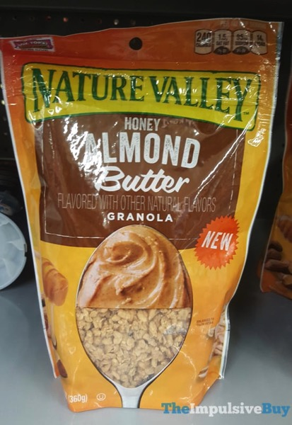 Nature Valley Honey Almond Butter Granola
