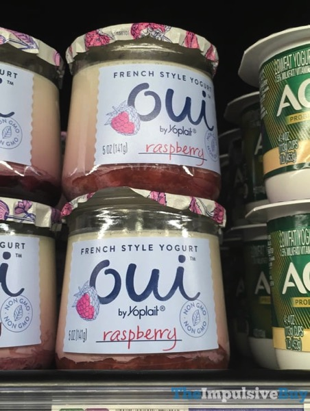 Oui by Yoplait Raspberry French Style Yogurt