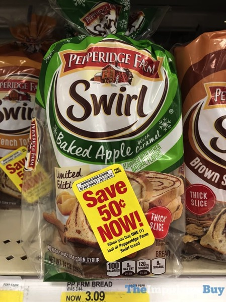Pepperidge Farm Limited Edition Baked Apple with Caramel Swirl Bread