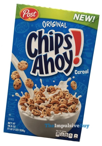 Post Chips Ahoy Cereal