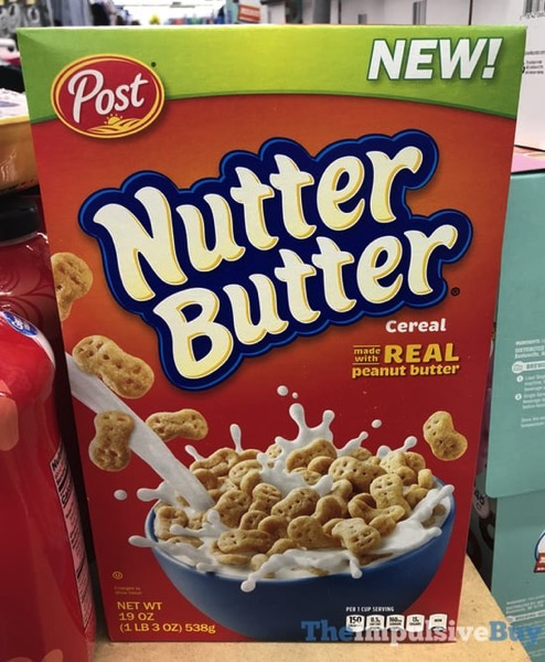 Post Nutter Butter Cereal