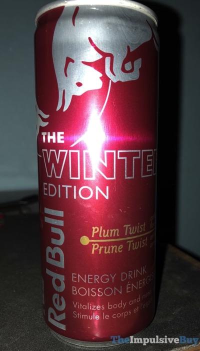 Red Bull Winter Edition Plum Twist Energy Drink
