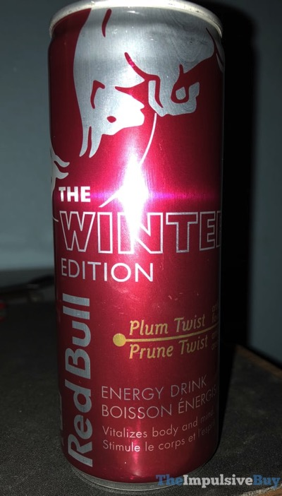 Red Bull Winter Edition Plum Twist Energy Drink