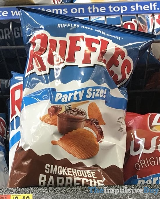 Ruffles Smokehouse Barbecue Potato Chips  2017