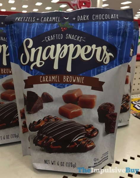 Snappers Caramel Brownie