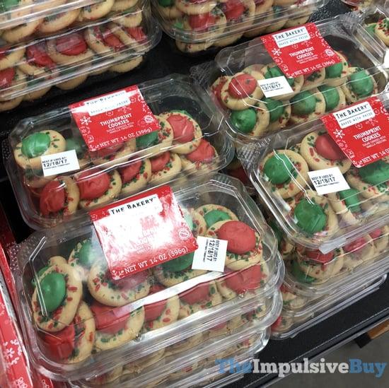 The Bakery Holiday Thumbprint Cookies