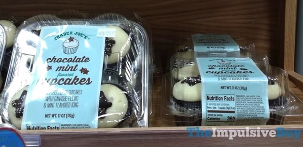 Trader Joe s Chocolate Mint Cupcakes