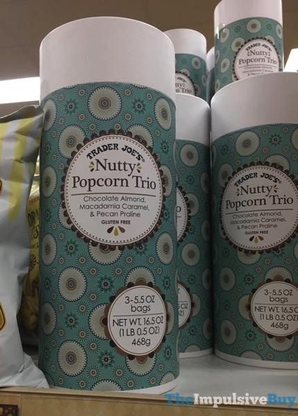 Trader Joe s Nutty Popcorn Trio