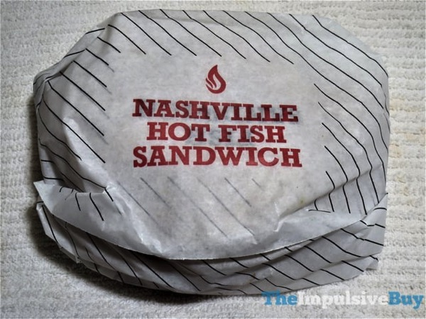 Arby s Nashville Hot Fish Sandwich
