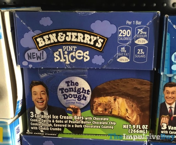 Ben  Jerry s The Tonight Dough Pint Slices