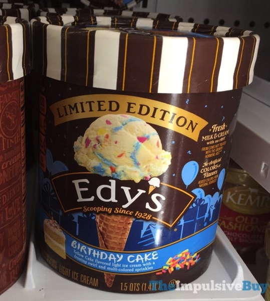 Edy s Limited Edition Birthday Cake Light Ice Cream