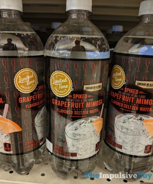 Giant Limited Time Originals Spiked Grapefruit Mimosa Flavored Seltzer Water