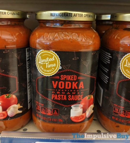 Giant Limited Time Originals Spiked Vodka Organic Pasta Sauce